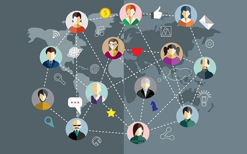 Термин социальная сеть Джон Барнс